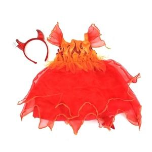 Other - Little Red Devil Fiery Red Halloween Costume